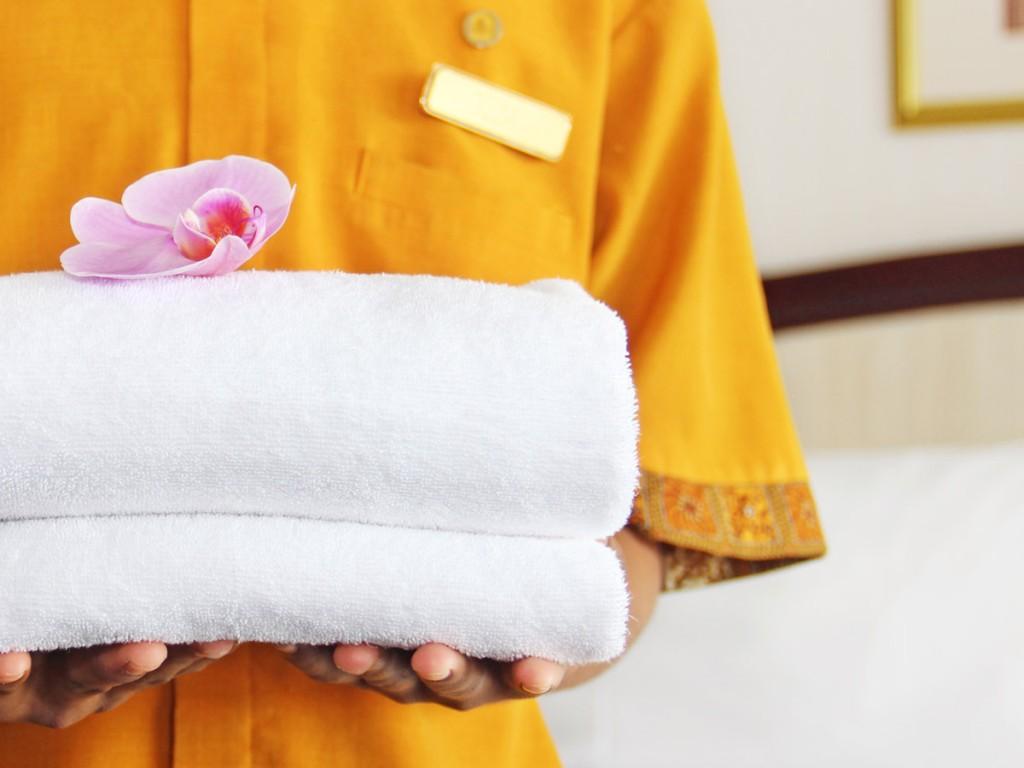 Biancheria da camera lavanderia industriale - Biancheria da bagno ...